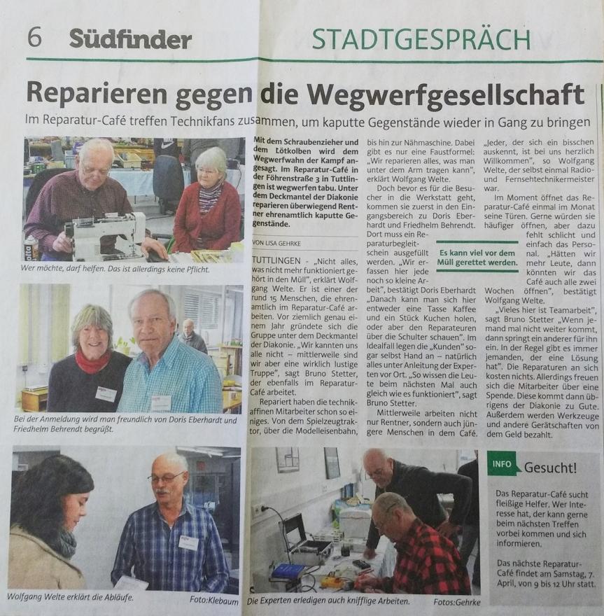 2018-03-14 Südfinder RepCafé