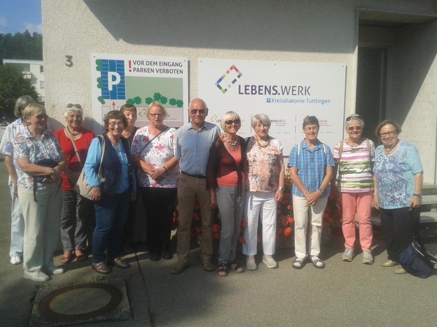 Tuttlinger Senioren besuchen dasLebens.Werk